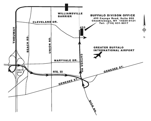 Buffalosm on Garden State Parkway Exit Map