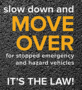Emergency Roadside Service >> Move Over Law - New York State Thruway